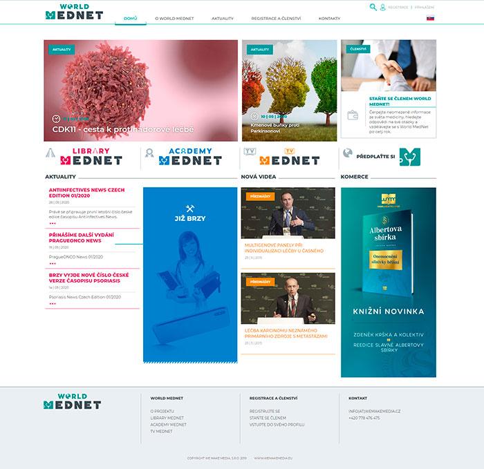 World MedNet – informace ze světa medicíny
